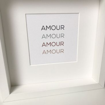AMOUR AMOUR AMOUR AMOUR (A5)